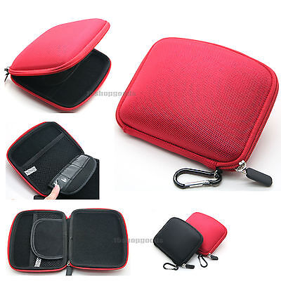"6"" inch RED EVA Hard Case Cover for TomTom GPS GO 6000 600 60 VIA 620 Australia"