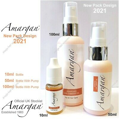 Amargan Hair Therapy Oil 10ml Treatment Conditioner For all hair types