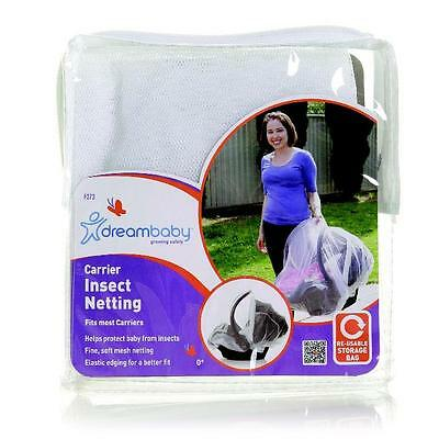 Dream Baby Infant Carrier Carseat Insect Mosquito Bug Mesh Netting