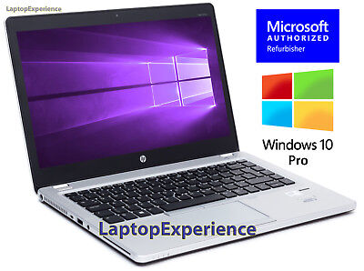 HP LAPTOP 9470m ELITEBOOK FOLIO WINDOWS 10 PRO WIN i5 WEBCAM WiFi 8GB 128GB SSD