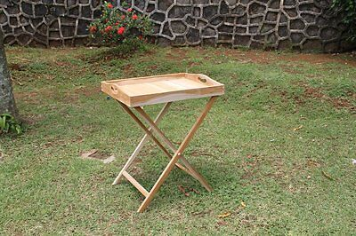TEAK Tray - Teak Servier Tablett