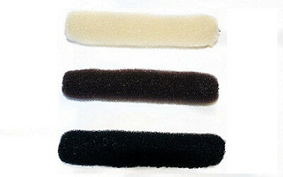 Hair Tools Bun Roll for Rolling & Curling Hair Dark Brown In Colour