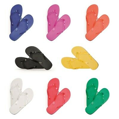 Pack of 20 Wedding Flip Flops Foam Party & Spa Beach Sandals Footwear 5/6 7/8 UK