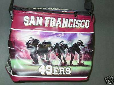 9b574edd SAN FRANCISCO 49ERS NFL 6 pack Cooler Lunch Box Bag Insulated ...