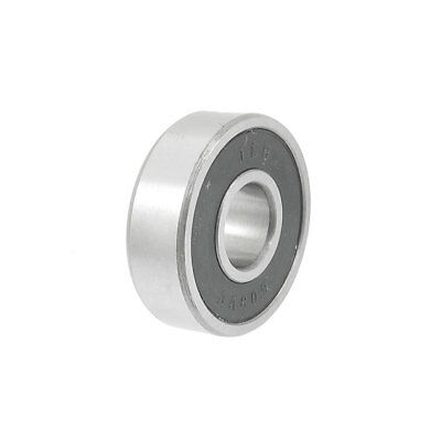 Rubber Sealed 8mm x 22mm x 7mm Deep Groove Ball Bearing for Angle Grinder 608RS