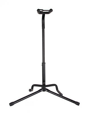 New Black Acoustic Electric Guitar Folding Tripod Gear Metal Stand