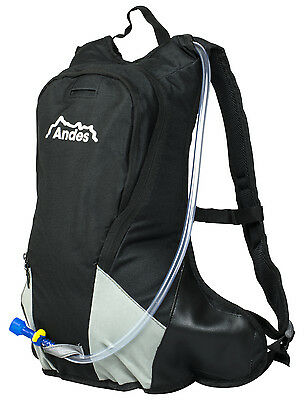 Andes 3 Litre Hydration Pack Water Rucksack/Backpack Hiking/Cycling Bag