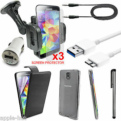 10 X Accessory Bundle Case Car Holder Charger Kit For Samsung Galaxy S5 SM-G900