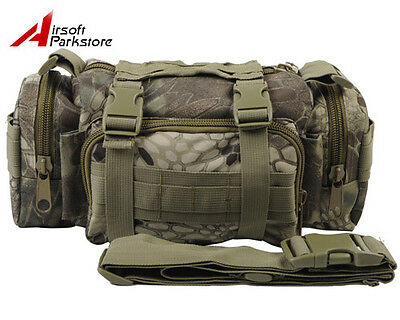 Tactical Molle Waist Pack Pouch Military Camping Hiking Shoulder Bag Highlander