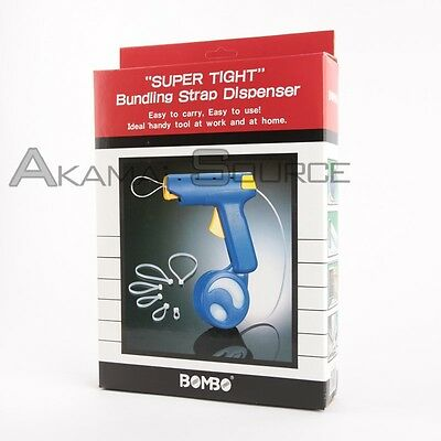 Warehouse Packing Tools Super Tight Bundling Strap Dispenser Zip Tie Retail Box