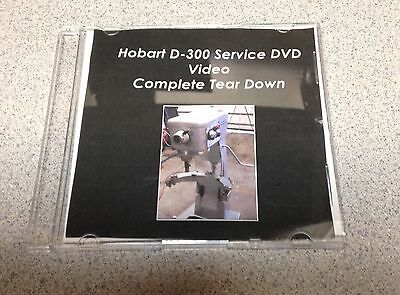 Mixer Hobart D-300 Service DVD Video Complete Tear Down