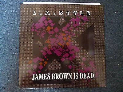"""L.A. Style James Brown Is Dead 12"""" ZYX Records 1991"""