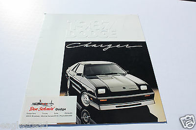 Auto Brochure - Dodge - Charger - 1987 (AB300) - OS