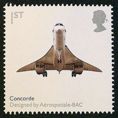 """""""Concorde"""" illustrated on 2009 stamp -  Unmounted Mint"""