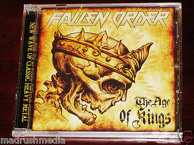 Fallen Order: The Age Of Kings CD 2014 Stormspell Records USA SSR-DL135 NEW