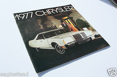 Auto Brochure - Chrysler - Product Line Overview - 1977 (AB336) - OS