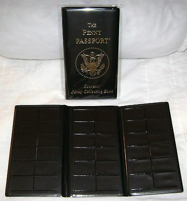Penny Passport - Tri-Fold Elongated Coin Case New