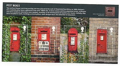 GB 2009 Post Boxes unmounted mint mini / miniature sheet MNH m/s stamps
