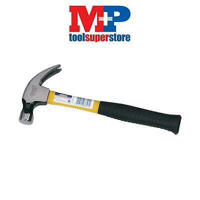 Draper 63347 Expert 560G (20oz) Fibreglass Shafted Claw Hammer