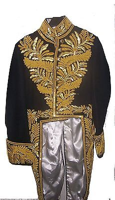 Custom Bespoke Civil Court Dress Coatee Uniform Tunic Coat Jacket Officer Mayor