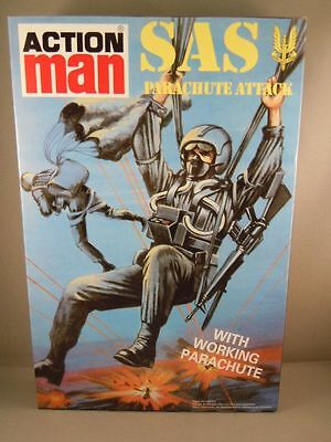 ACTION MAN - 40th SAS PARACHUTE ATTACK - BOXED