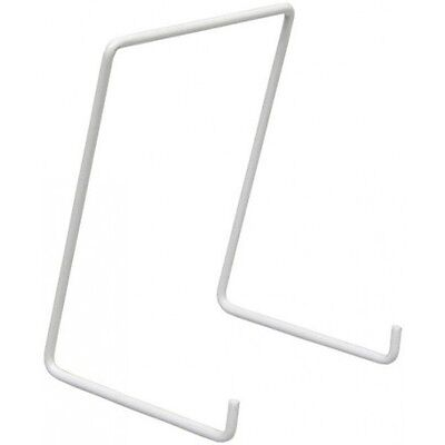 WIRE PLATE STANDS (WHITE) LARGE SIZE PLATES 24-28cm NEW