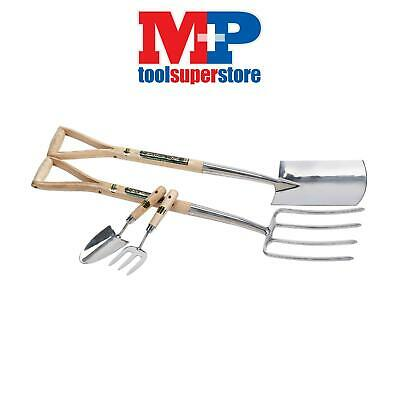 Draper 10348 Expert 2 Piece Stainless Steel Fork and Spade Set