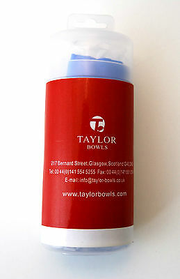 Thomas Taylor Bowls Synthetic Chamois Bowls Cloth Towel Blue With Case