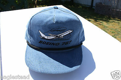 Ball Cap Hat - Boeing 767 - B767 - Side View Style (H1159)