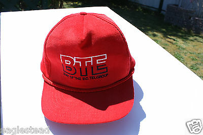 Ball Cap Hat - BTE - BC Tel - Business Telephone Systems - pre-Telus (H1160)