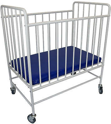 Tikk Tokk Metal Evacuation Cot With Fixed Sides | Baby Cot | Baby Bed