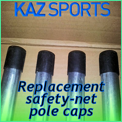 REPLACEMENT 25mm or 28mm TRAMPOLINE SAFETY NET SILICON RUBBER POLE CAPS