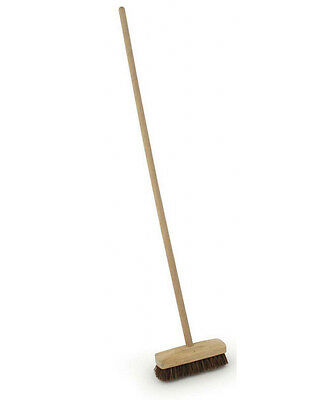 Deck Scrubber Long Handled Scrubbing Brush for Floors, Paths & Patios 23cm Head