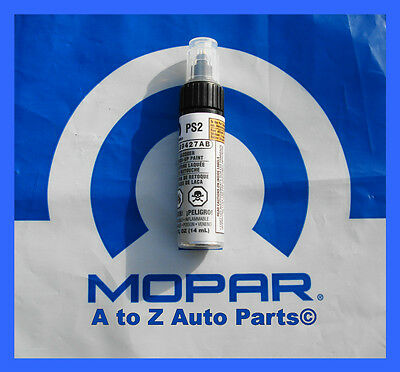 NEW Dodge,Ram, Chrysler 300, Jeep (PS2) BRIGHT SILVER Touch Up Paint,OEM Mopar
