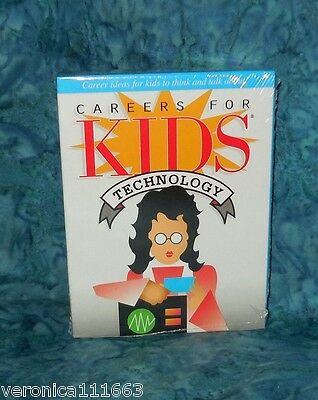 Careers for Kids Technology Conversation New sealed 40 Cards deck Fun Facts