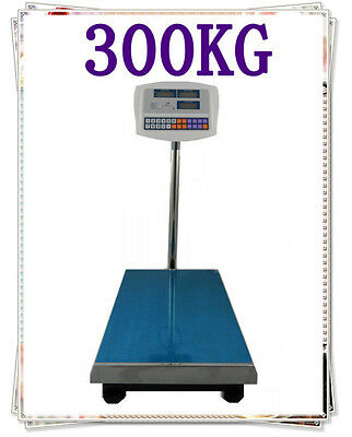 Brand New 300KG Electronic Price Computing Digital Platform Scales Weight