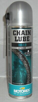 Motorex Kettenspray Strong Road Chain Lube 500ml weiss Spezialhafthraft