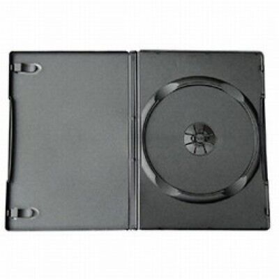 25 STANDARD Black Single DVD Cases 14MM