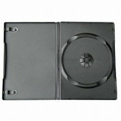 400 STANDARD Black Single DVD Cases 14MM