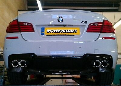 Bmw F10 520D M5 Style Exhaust Conversion,quad Exhaust System With Diffuser