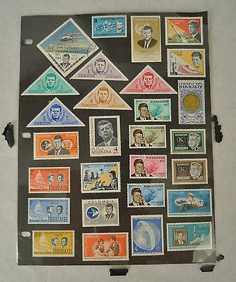 Lot of First Day Issue Covers Stamps 60s 70s Kennedy Apollo Disney 131 Pieces