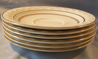 6 Taylor Smith Golden Jubilee Replacement Saucers