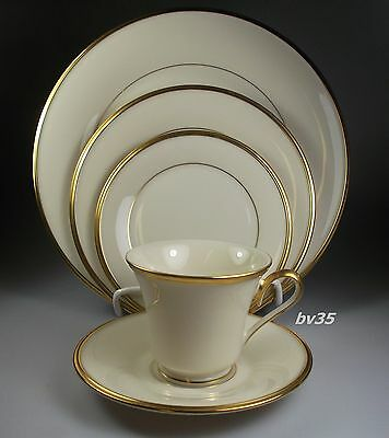 LENOX ETERNAL FIVE PIECE PLACE SETTINGS -  PERFECT!!