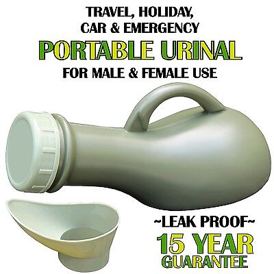 Unisex Portable Urinal Bottle - Male Female Car Travel Camping Women Toilet Loo