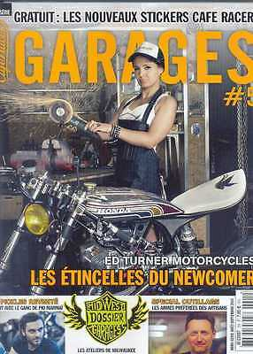 CAFE RACER GARAGES(FRANCE)- ISSUE 5 (NEW) *Post included to UK/Europe/USA