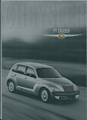 2000 CHRYSLER PT CRUISER brochure italiano Limited Edition - Touring - Classic
