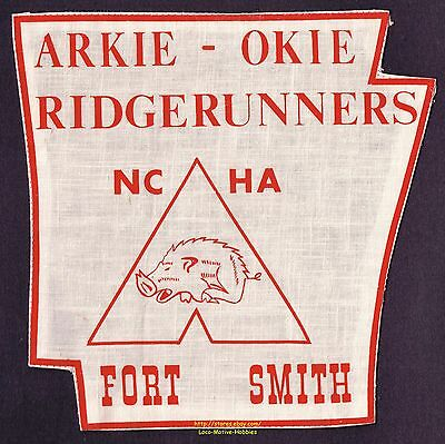 LMH Patch ARKIE OKIE RIDGERUNNERS  Fort Smith NCHA  National Campers Hikers Assn
