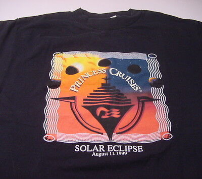 Princess Cruises SOLAR ECLIPSE August 11, 1999 (MEDIUM) T-shirt