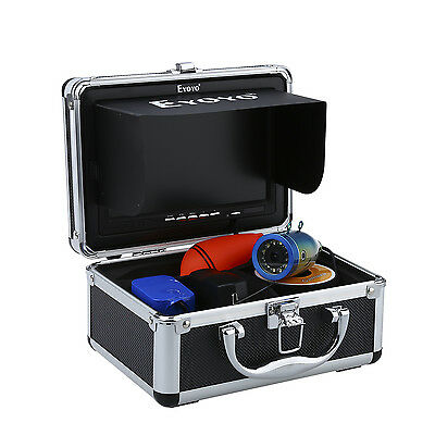 """30m Professional Fish Finder Underwater Ice Fishing Camera 7"""" Color HD Monitor"""