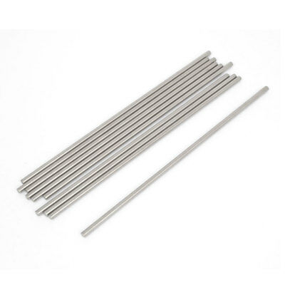 10 Pieces RC Car Toy Stainless Steel Round Rods Shafts Replacement 3mmx140mm